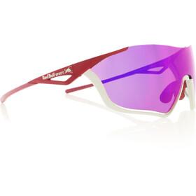 Red Bull SPECT Flow Lunettes de soleil, matt light grey/burgundy/smoke-pink